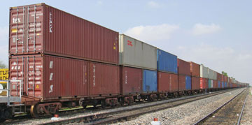 Double Stack Container Cars